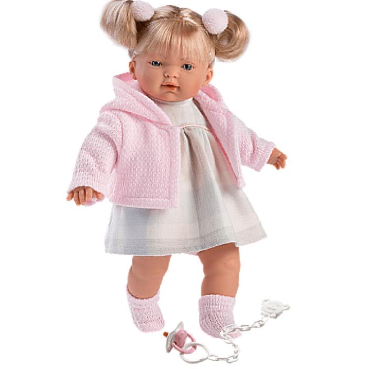 "Інтерактивна плачуча лялька ""Айтана"" в рожевому - image-0"